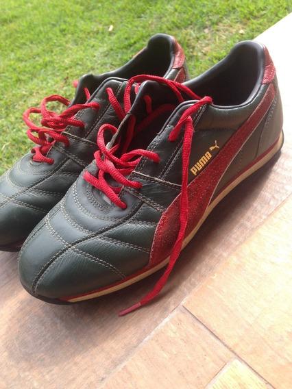 3 Pares Tenis Semi Novos Nike, Puma, adidas 37 Feminino
