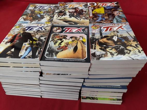 Tex Platinum Ouro Histórica E Anual - 10 Revistas À Escolher