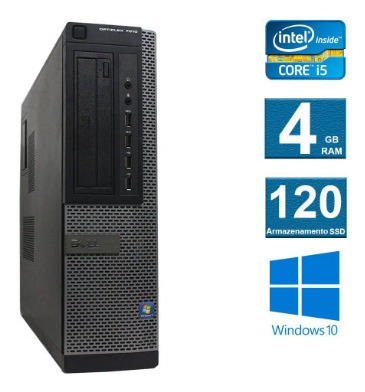 Computador Dell Optiplex 7010 I5 3º Geração 4gb 120ssd