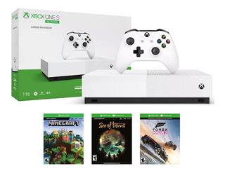 Consola Xbox One S Edición All-digital 1 Tb 4k