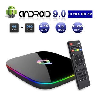 Tv Box Android 9.0, 4gb Ram / 32gb Rom, Hdmi 2.0, 6k Full Hd