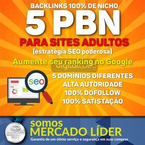 Backlinks Pbn Nicho Adulto Seo Alta Autoridade Dofollow