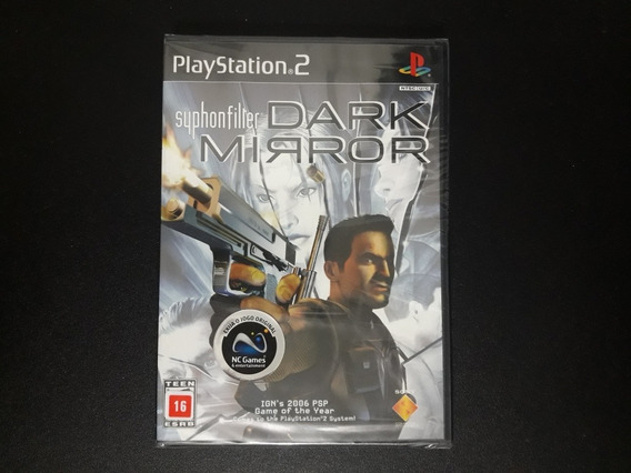 Syphon Filter Dark Mirror Ps2 Original Lacrado