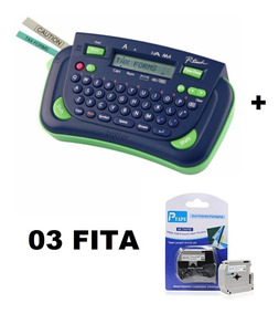 Rotulador Eletrônico Portátil Pt80 Brother + 03 Fita Extra