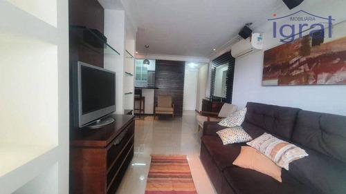 Imagem 1 de 30 de Apartamento Para Alugar, 72 M² Por R$ 5.800,00/mês - Moema - São Paulo/sp - Ap1388
