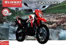 Moto Loncin Lx200-sx1 Año 2017 200cc