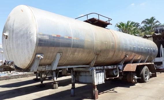 Carreta Tanque Contin - Ano 1985 - De Aço Carbono, 32.000 L