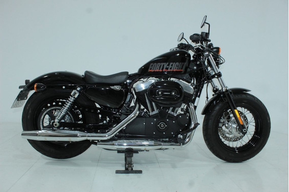 Harley Davidson Xl 1200 X Forty Eight 2015 Preta