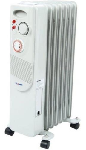 Calentador Calefactor Clark C09 7 De Aceite Gris