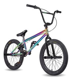 Bike Street Bmx Rainbow Arco-iris Manobras Freestyle 20.5 Os