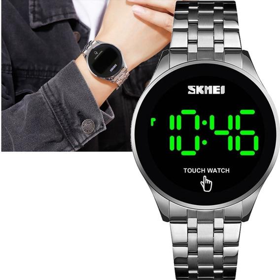 Relógio Unissex Skmei Digital Touch Watch Prateado 1579