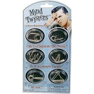 Mind Twisters 6pk Colores Y Estilos Pueden Variar