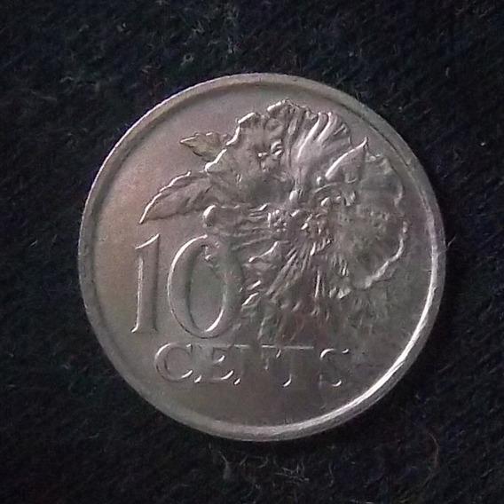 Trinidad Y Tobago 10 Cents 1990 Sc Km 31