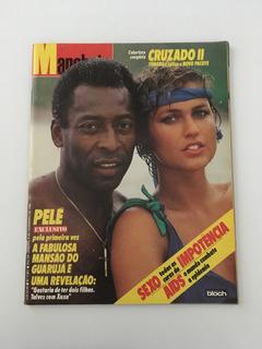 Revista Manchete Pelé Xuxa - 6 Dezembro 1986 Nº 1807