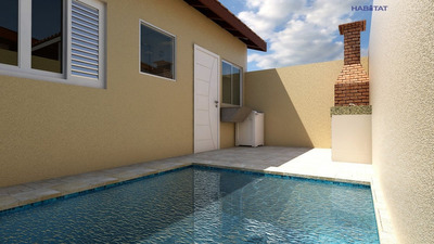 Casa A Venda No Bairro Cibratel 2 Em Itanhaém - Sp. - 1125-7414