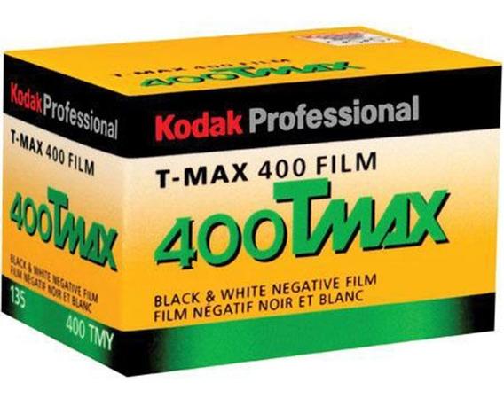 Filme Kodak Preto E Branco Tmax 400 35mm 36 Poses