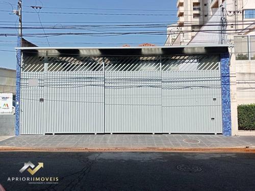Imagem 1 de 21 de Casa Para Alugar, 213 M² Por R$ 6.000,00/mês - Centro - Santo André/sp - Ca0727