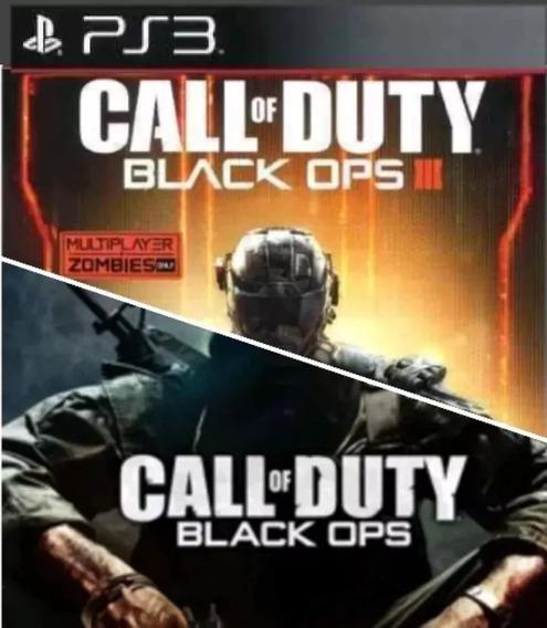 Cod Bo3 + Cod Bo1 Ps3 Psn Play3 Jogo Comprar