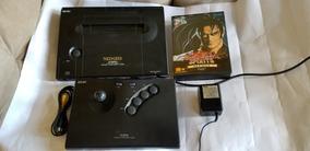 Console Neo Geo Aes Japonês Com Samurai Shodown 2.