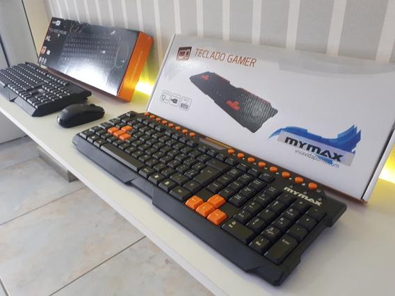 Teclado Mymax Gamer Usb Abnt