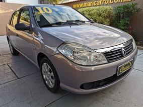 Renault Symbol Expression 2009/2010 1.6 Completo Bege