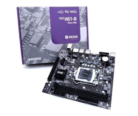 Kit Intel Core I5 2400 3.1 Ghz + Placa H61 + Cooler Promoção