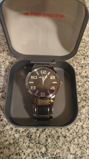 Reloj Unlisted (k. Cole) Negro - 44 Mm - Malla Metal