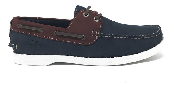 Dockside Samello Molegatto - Navy / Vinho
