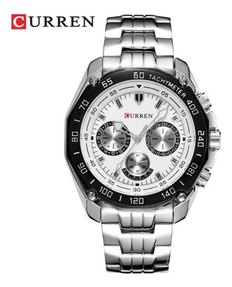 Relógio Masculino Curren Frete Grátis 12x Sem Juros