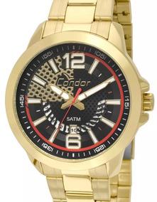Relógio Condor Masculino Dourado Co2115xh4p Promoção