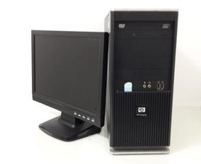 Kit Computador Hp Pentium Dual Monitor 80gb 2gb