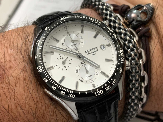 Orient Chronograph Wr100m Quartz