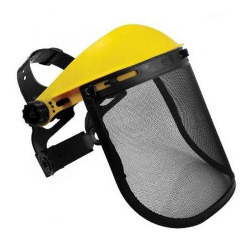 Protetor Facial Roçadeira Com Tela