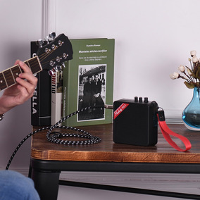 Muslady Senhorita 5 Portátil Mini Amplificador Guitarra Amp