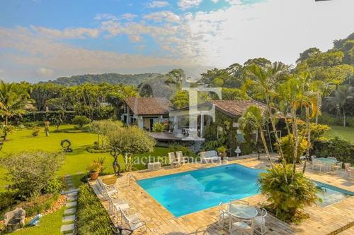 Casa Com 4 Dormitórios À Venda, 1000 M² Por R$ 4.500.000,00 - Costão Do Pernambuco - Guarujá/sp - Ca2837