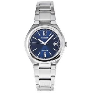 Reloj Citizen Fe6020-56l Acero Eco Drive Agente Oficial Jr