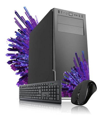 Imagen 1 de 4 de Pc Armada Gamer Amd Athlon 3000g 8gb Ram Hdd 1tb