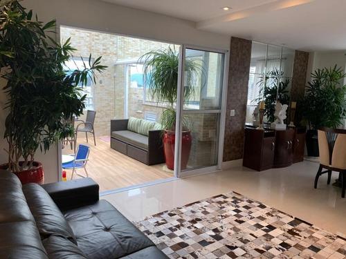 Cobertura Com 3 Dormitórios À Venda Por R$ 1.600.000,00 - Gonzaga - Santos/sp - Co0062