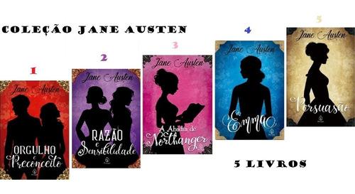 Coleção Romance De Época Jane Austen 5 Livros Novos