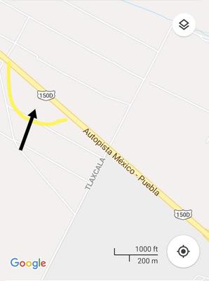 Terreno En Venta Puebla Carretera México-puebla/xoxtla