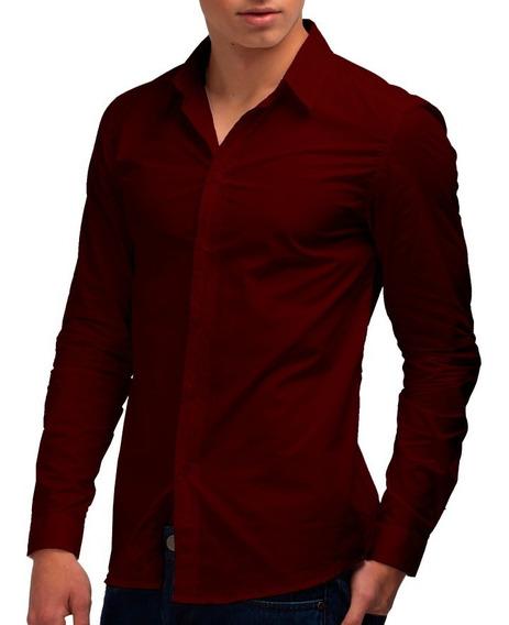 Kit 3 Camisas Sociais - Slim Fit - Cores Personalizadas