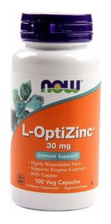 L-optizinc 30mg 200 Cáps Contra Acne - Últimas Unidades