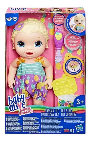 Baby Alive Lanchinho Divertido Loira Hasbro B5013