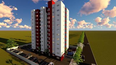 Apartamento Em Plano Diretor Sul, Palmas/to De 48m² 2 Quartos À Venda Por R$ 135.000,00 - Ap239713