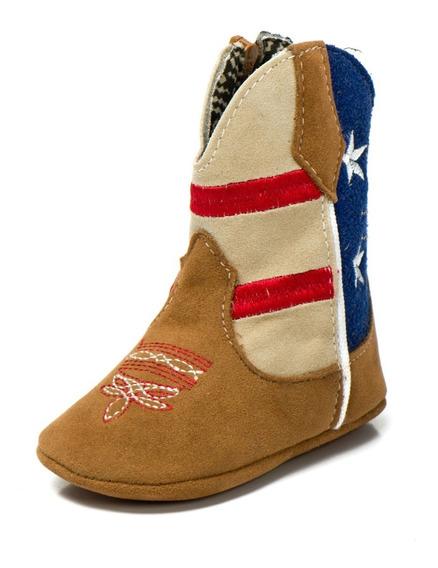 Bota Feminina Botina Infantil Bebe Texana Country