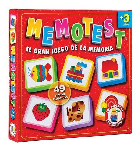 Juego De Mesa Memotest Infantil Ruibal