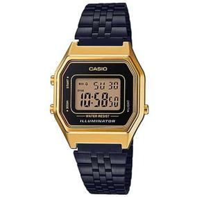 Relógio Casio Vintage La680wegb-1adf Preto