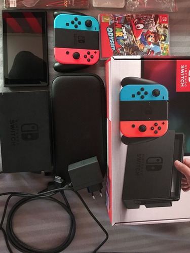 Nintendo Switch   Flasheable Permuto 1 Juego En Caja Leer