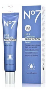 Lift & Luminous No. 7 Serum Triple Accion + Eye Cream