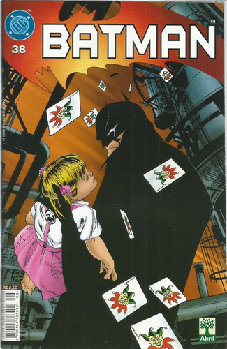 Imagem 1 de 1 de Batman 38 Dc Comics Editora Abril 1999